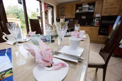 Leitrim Lodge Dublin Kitchen - showing cupboards